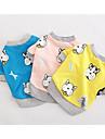 Собаки Жилет Одежда для собак Лето Мультфильмы Милые На каждый день Желтый Синий Розовый