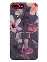 Pour IMD Motif Coque Coque Arriere Coque Fleur Flexible PUT pour AppleiPhone 7 Plus iPhone 7 iPhone 6s Plus iPhone 6 Plus iPhone 6s