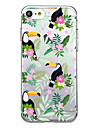 케이스 커버 울트라 얇은 패턴 다시 커버 케이스 꽃 소프트 tpu 아이폰 7 플러스 7 6s 플러스 6 플러스 6s SE 5s 5
