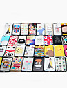 Para apple iphone 7 mais caso capa padrao back cover caso cartoon rigido pc estilos multiplos entrega aleatoria 1 pcs