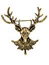 여성 남아 그외 브로치 애니멀 디자인 빈티지 개인 Euramerican 의상 보석 도금 골드 합금 Animal Shape 보석류 제품 일상 캐쥬얼