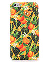 For apple iphone 7 7plus caso capa padrao tampa traseira fruta flor pc duro 6s mais 6 mais 6s 6