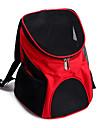Кошка Собака Переезд и перевозные рюкзаки Животные Корпусы Компактность Дышащий Твердый Коричневый Красный Синий Черный