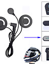 Freeconn mini usb мотоцикл аксессуары для интеркома наушники для наушников микрофон для fdc-01vb t-comvb tcom-sc colo tcom-02 full face