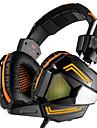 Pc стерео игровая гарнитура с микрофонными наушниками для наушников с ушами, удобная головная повязка с шумоизоляцией и дышащим