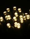 3.5 W 스트링 조명 / lm AC 110-130 15 m 50 LED가 웜 화이트