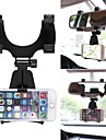 ZIQIAO 360 Degree Car Auto Rearview Mirror Mount Cell Phone Holder Bracket Stands Stand Cradle For Samsung For iPhone Mobile Phone GPS