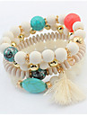 European And American Fashion Small Pure And Fresh And Round Pearl Tassel Bracelet