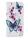 For Samsung Galaxy A5 (2017) A3 (2017) Case Cover Butterfly Pattern PU Material Card Stent Wallet Phone Case A5 (2016) A3 (2016)