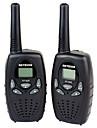 Portable VOX Affichage LCD Analyse 1,5 - 3 km 1,5 - 3 km 2 pieces Talkie walkie Radio bidirectionnelle