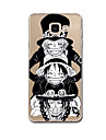 For Samsung Galaxy A3(2017) A5(2017) Case Cover Pattern Back Cover Case Cartoon Punk Soft TPU for Samsung Galaxy A7(2017) A8