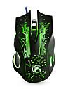 Novo mouse de jogos com fio 6 botoes mouse de computador mouse usb 2400dpi mouse optico