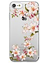 For iPhone 7 Plus 7 Case Cover Transparent Pattern Back Cover Case Flower Soft TPU for  iPhone 6s Plus 6s 6 Plus  6 5s 5 SE