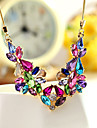Women\'s Statement Necklaces Jewelry Jewelry Crystal Alloy Unique Design Euramerican Fashion Jewelry 147 Party Other Evening Party