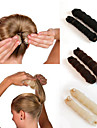 2Pcs  Magic Style Hair Styling Tools Buns Braiders Curling Headwear Hair Rope Hair Band Accessories