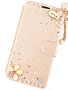 For iPhone 7 7 Plus 6s 6 Plus SE 5s 5 Case Card Holder / with Stand / Flip Case Glitter Shine Hard PU Leather