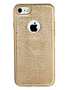For Apple iPhone 7 7Plus Case Cover Plating Back Cover Case Glitter Shine Solid Color Soft TPU 6s Plus 6 Plus  6s 6