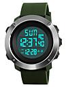 SKMEI Муж. Спортивные часы Армейские часы Модные часы Наручные часы электронные часы Японский ЦифровойLED Календарь Секундомер Защита от