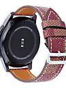 진짜가죽 클래식 버클 용 Samsung Galaxy 손목 시계