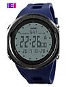Men\'s Sport Watch Digital Watch Digital PU Band Black Blue Green Grey
