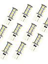 2.5W LED Crystal Light G4 18SMD 5050 Warm White/White DC12V 10Pcs