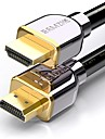 SAMZHE HDMI 2.0 Cable HDMI 2.0 to HDMI 2.0 Cable Male - Male 4K*2K Gold-Plated Copper 2.0m(6.5Ft)