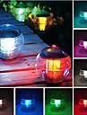 Mudanca de 7 cores impermeavel LED Light Floating Lamp Bola iris Piscina Solar