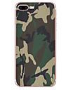 Caso para Apple iphone 7 7 mais capa de capa modelo de camuflagem hd pintado tpu material caso de telefone suave caso para iphone 6s 6