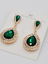Women\'s Drop Earrings Rhinestone Fashion Euramerican Costume Jewelry Alloy Teardrop Jewelry For Party