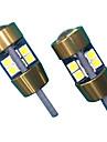 10w объектив дизайн t10 может-bus светодиодная лампа белого цвета (2 шт)