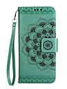 Case for Motorola Moto G5 Plus G5 Case Cover Card Holder Wallet Flip Embossed Pattern Full Body Phone Case Mandala Flower Hard PU Leather