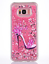 Case For Samsung Galaxy S8 S8 Plus Case Cover High Heels Pattern TPU Material Full Soft Love Flash Powder Quicksand Phone Case For S7 S7 Edge