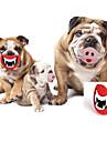 Brinquedo Para Cachorro Brinquedos para Animais Brinquedos para roer Labios Borracha Vermelho Rosa claro