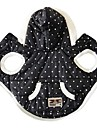Dog Costume Dog Clothes Cosplay Polka Dots Black