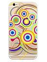 케이스 아이폰 7 플러스 기하학적 패턴 패턴 tpu 소프트 뒷면 커버 아이폰 6 플러스 6s 플러스 iphone 5 se 5s 5c 4s