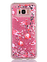Case For Samsung Galaxy S8 S8 Plus Case Cover Flamingo Pattern TPU Material Full Soft Love Flash Powder Quicksand Phone Case For Galaxy S7 S7 Edge