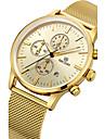 MEGIR Men\'s Fashion Casual Unique Luxury Stainless Steel Calendar Quartz Watches Clock Relogio Masculino Hodinky Hour Handmade Watch