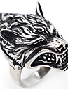 Men\'s Jewelry Punk Hip-Hop Gothic Costume Jewelry Stainless Steel Wolf Jewelry For Halloween Stage Club