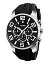 남성 아가씨들 스포츠 시계 드레스 시계 패션 시계 손목 시계 독특한 창조적 인 시계 중국어 디지털 달력 방수 실리콘 밴드 참 멋진 우아한 멀티컬러