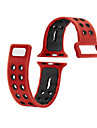 For iWatch Apple Watch Strap 3 Series 2 1 Silicone Sports Fitness Band Replacement 38mm 42mm