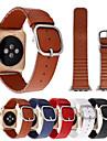 pour Apple watch iwatch bracelet en cuir veritable 38mm 42mm