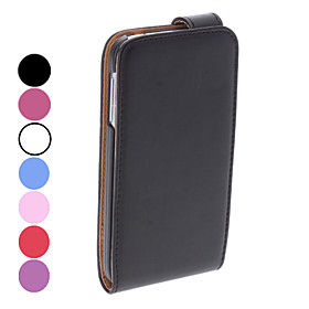 Elegant Design PU Leather Full Body Case for Samsung Galaxy S4 I9500 (Assorted Colors)