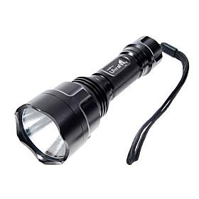 Lanterna Ultrafire 5 Modos CREE XPE LED  (1000LM, 1x18650, Preta)