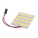 T10/BA9S/Festoon 5W 24x5730SMD Warm White Light LED für Auto-Leselampe (12V)