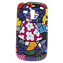 Mädchen Pattern Hard Case für Samsung Galaxy S3 I8190 Mini