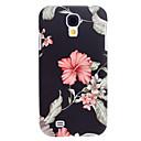 Exquisites Design Blumenmuster Relief Hard Case für Samsung Galaxy i9500 S4