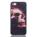 Burning Skull Printing Back Case for iPhone 5/5S