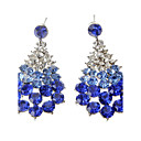 Diamond Droplet Alloy Earring