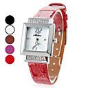 Women's Mini Style PU Analog Quartz Elegant Wrist Watch (Assorted Colors)