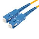 Fiber Optic Cable M/M SC/SC SM Multi Mode Duplex Cable 9/125 Type 3.0mm Yellow (10M)